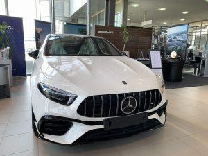 Mercedes-AMG A 45 S sa aero paketom čeka novog vlasnika u Hrvatskoj!