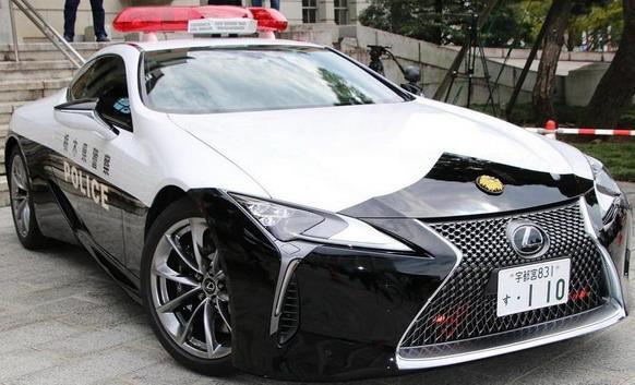 Lexus LC500 stiže u službu japanske policije, strah i trepet sad je zagarantiran