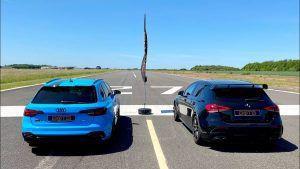 Audi RS4 Avant vs Mercedes-AMG A45 S, ima li snažni V6 motor šanse protiv nafriziranog dvolitrenog turbaka?
