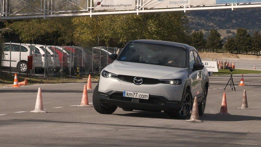 Mazda MX-30 oduševila na testu sjevernog losa brzinom od 74 km/h