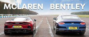 Britanski okršaj GT krstarica - McLaren GT vs Bentley Continental GT