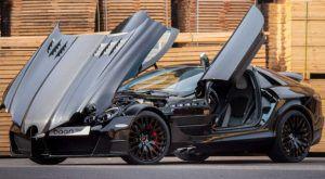 Mercedes-Benz SLR McLaren by Mansory budući je klasik koji neodoljivo podsjeća na 'Batmobile'