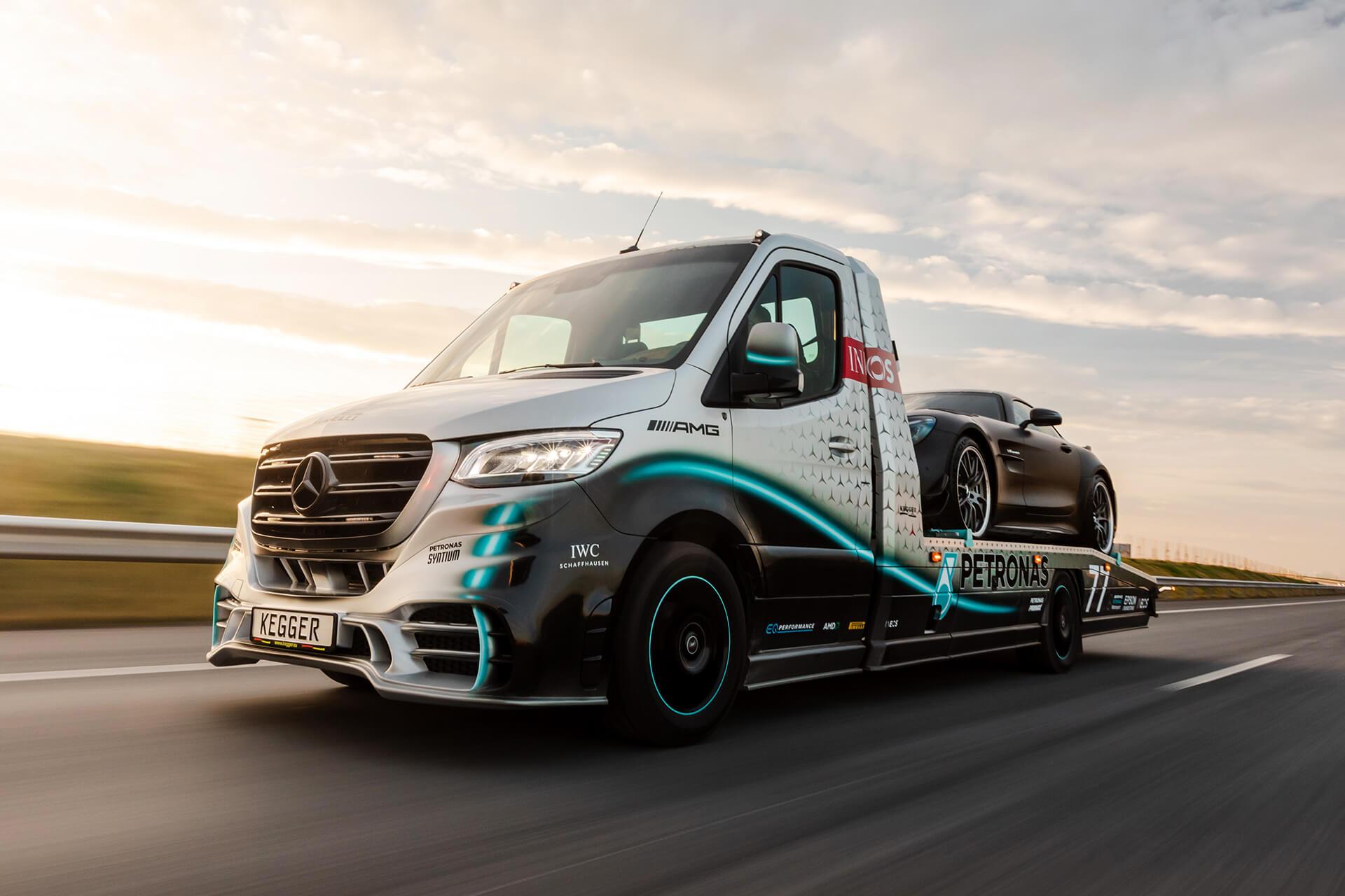 Mercedes-Benz Sprinter kao najatraktivnija vučna služba na svijetu, po uzoru na Formulu 1