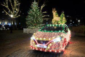 Nissan Leaf u božićnom izdanje dokazuje prednosti struje
