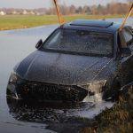 audi rs q accident in reeuwijk