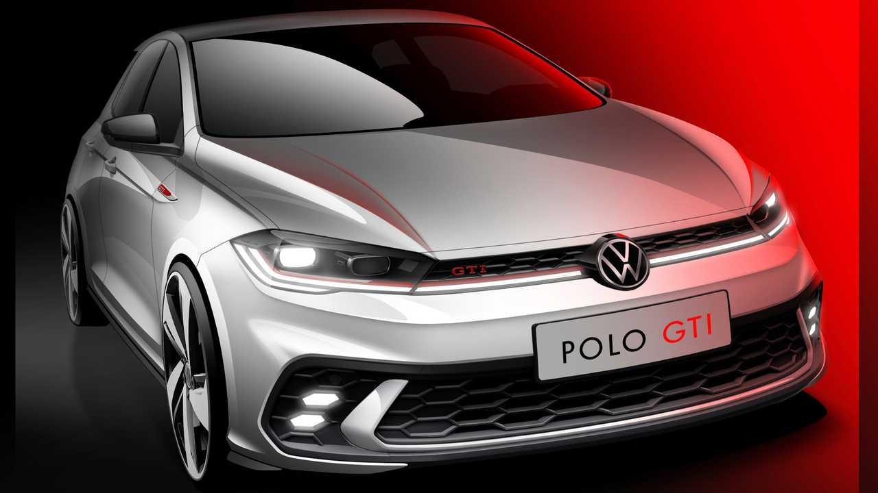 volkswagen polo gti facelift teaser