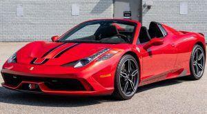 Ferrari 458 Speciale Aperta prodan na aukciji za pozamašnih 476.000 dolara 1