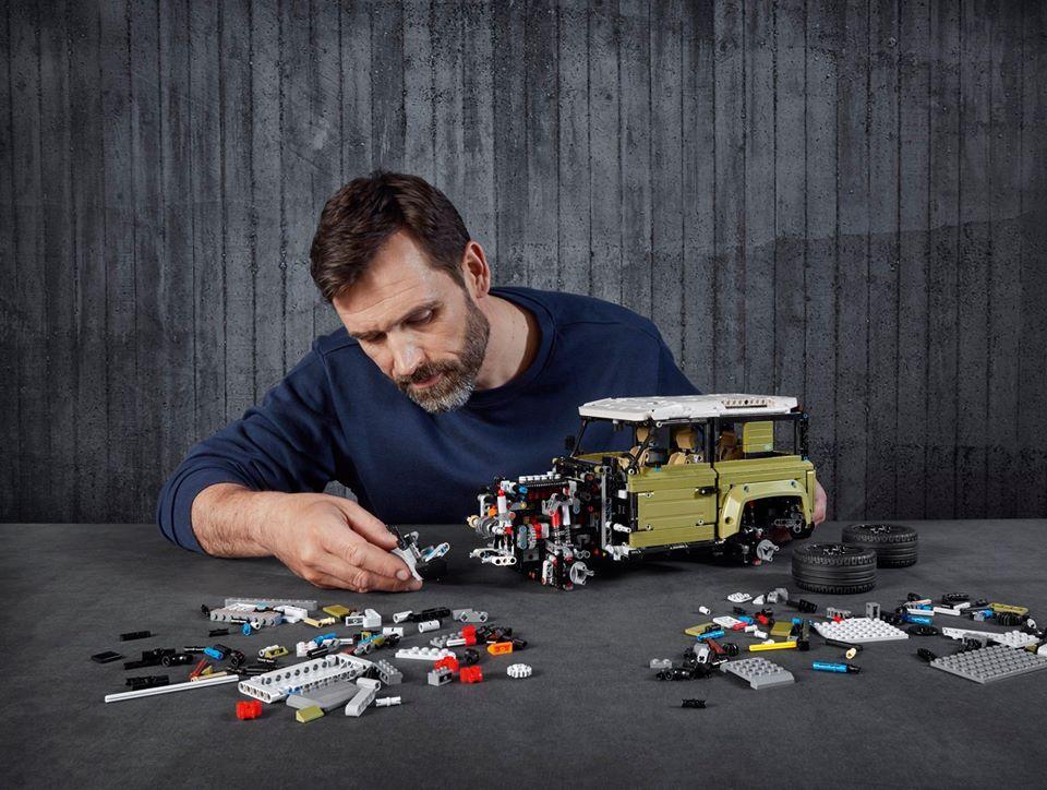 Land Rover Defender u Lego izdanju još stigne pod bor! 1