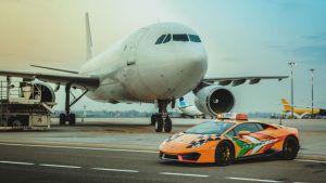 Lamborghini Huracan glavna je zvijezda aerodroma u Bologni 1