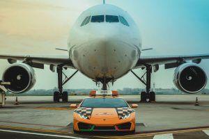 Lamborghini Huracan glavna je zvijezda aerodroma u Bologni