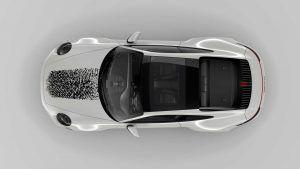 Porsche 911 u jedinstvenom izdanju, otisak prsta postaje ukrasni detalj! 1