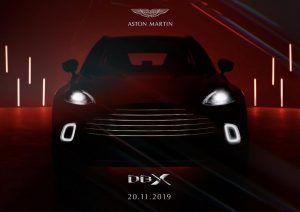 Aston Martin DBX - luksuzni SUV u najavi, unutrašnjost odiše luksuzom 1
