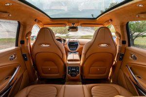Aston Martin DBX - luksuzni SUV u najavi, unutrašnjost odiše luksuzom 2
