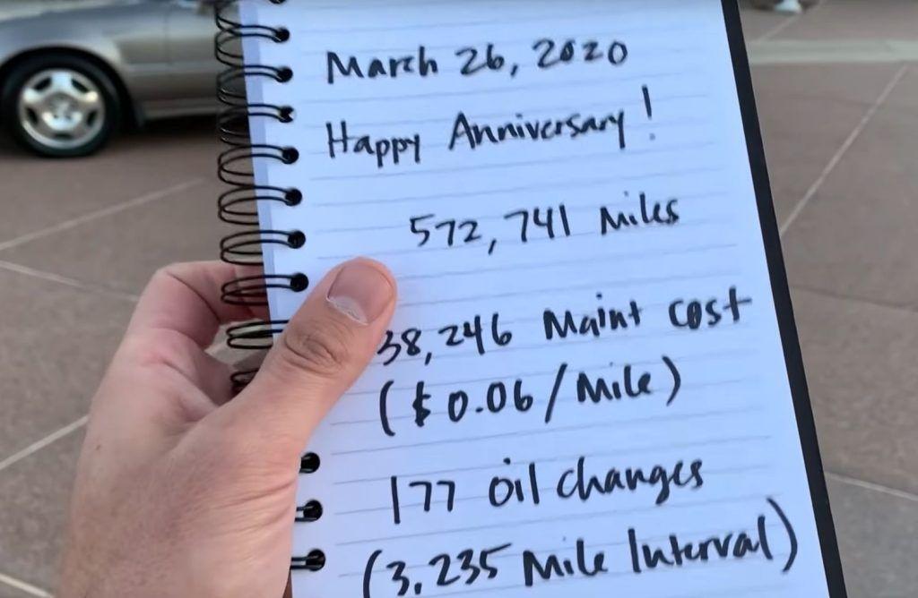 Honda Legend prešla 921.755 km, vlasnik odradio 177 servisa zamjene ulja, a kavčilo nije nikad mijenjano 6