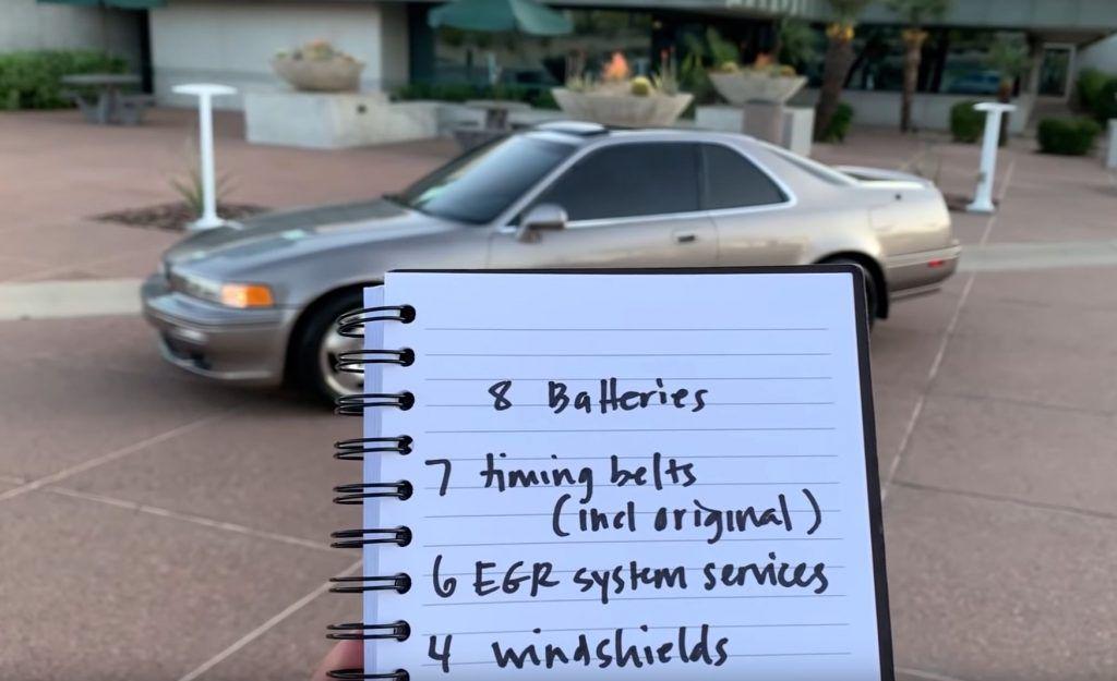 Honda Legend prešla 921.755 km, vlasnik odradio 177 servisa zamjene ulja, a kavčilo nije nikad mijenjano 5