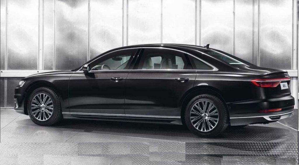 Audi A8L Security, neprobojna limuzina od 4 tone!