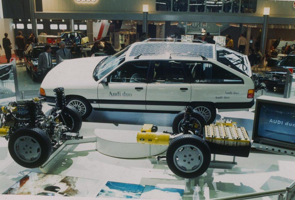 Audi Duo bio je prvi plug-in hibrid iz Ingolstadta prije točno 30 godina!
