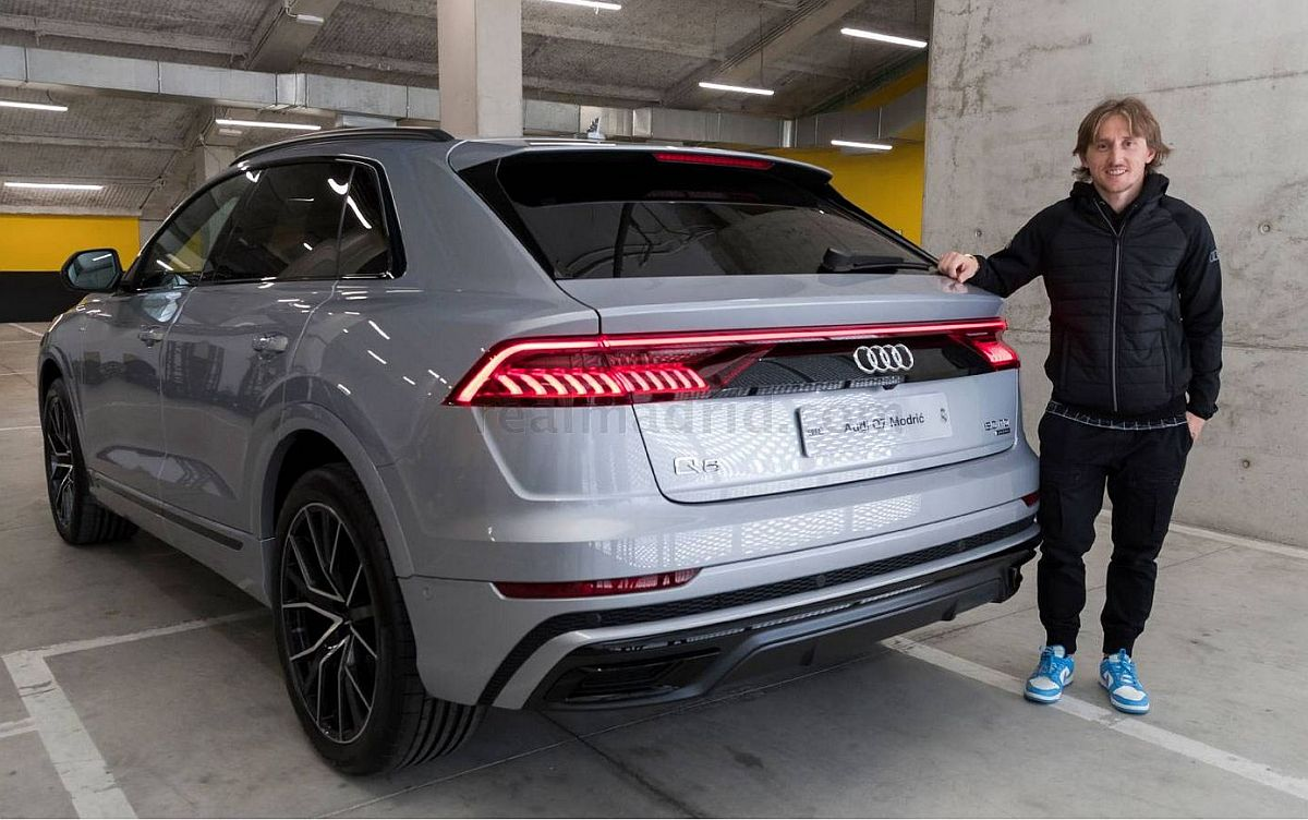 Audi Q Modic Real Madrid