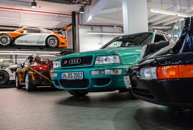 Audi RS Avant Porsche