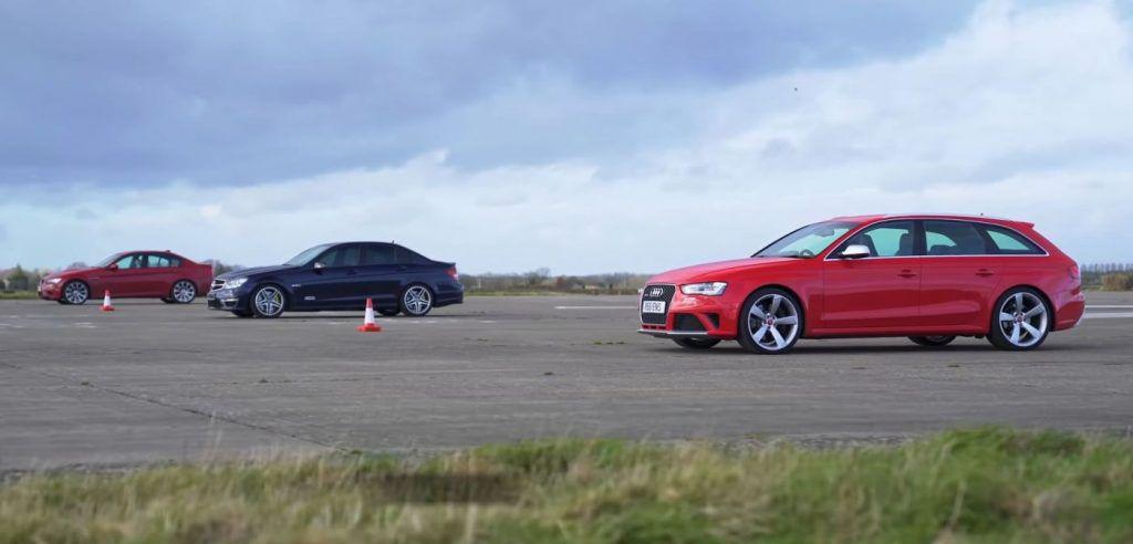 Mercedes-Benz C63 AMG vs Audi RS4 vs BMW M3 - atmosferski monstrumi kao staro vino, traži se najbrži!