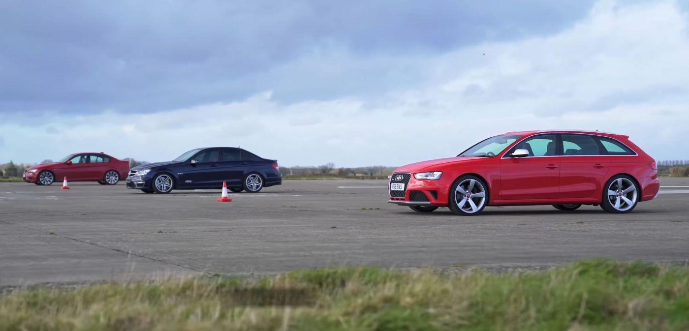 Audi RS Avant BMW M C AMG DRAG
