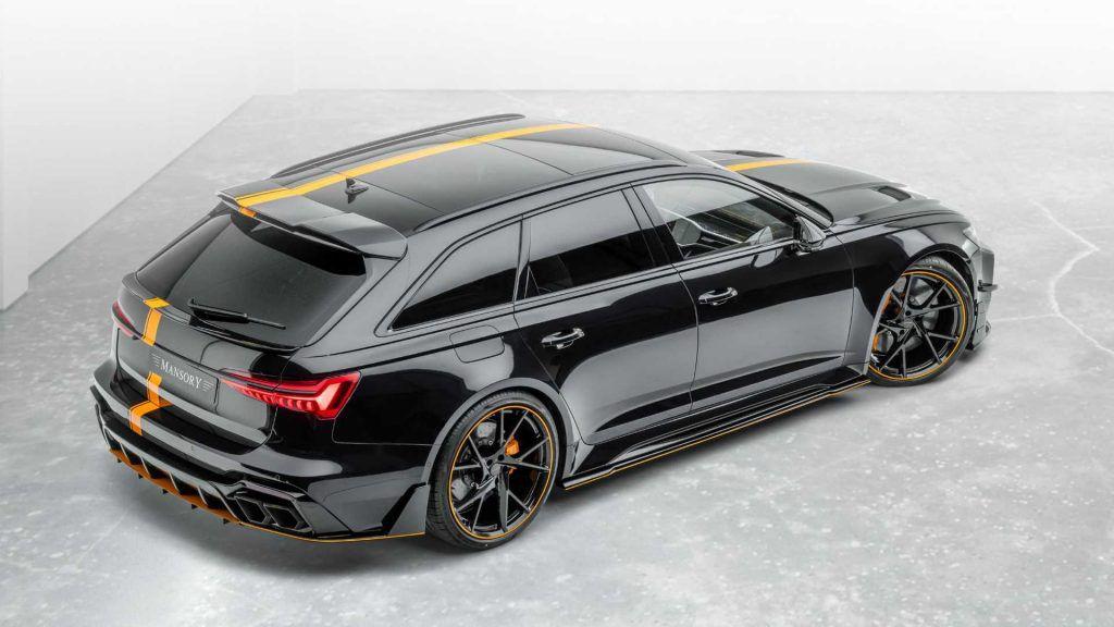 Audi RS6 u Mansory izdanju neće se svidjeti baš svima 1