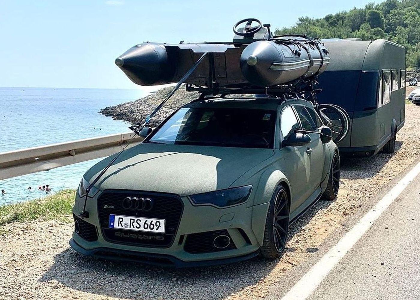 Audi RS turist