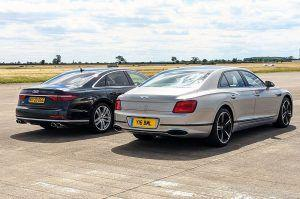 Audi S8 vs Bentley Flying Spur, dvoboj ultra-luksuznih limuzina, V8 ili W12?