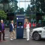 Audi e tron FC Bayern Munich Audi EV charging stations