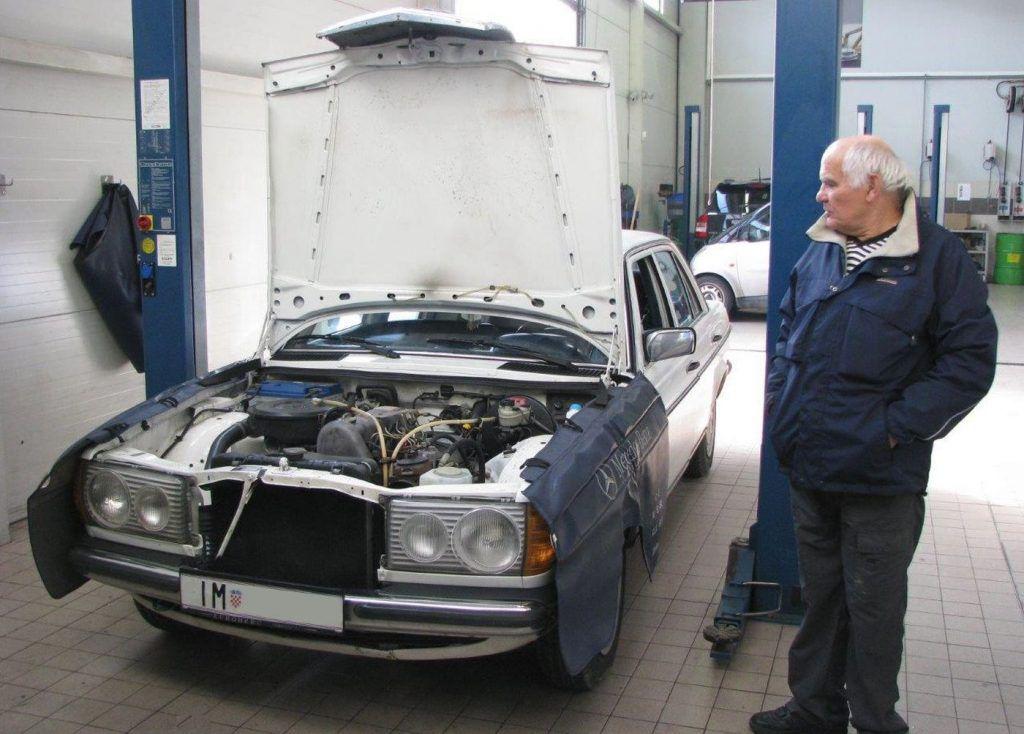 Mercedes-Benz 123 i priča iz servisa, kilometarska anegdota za svaku pohvalu