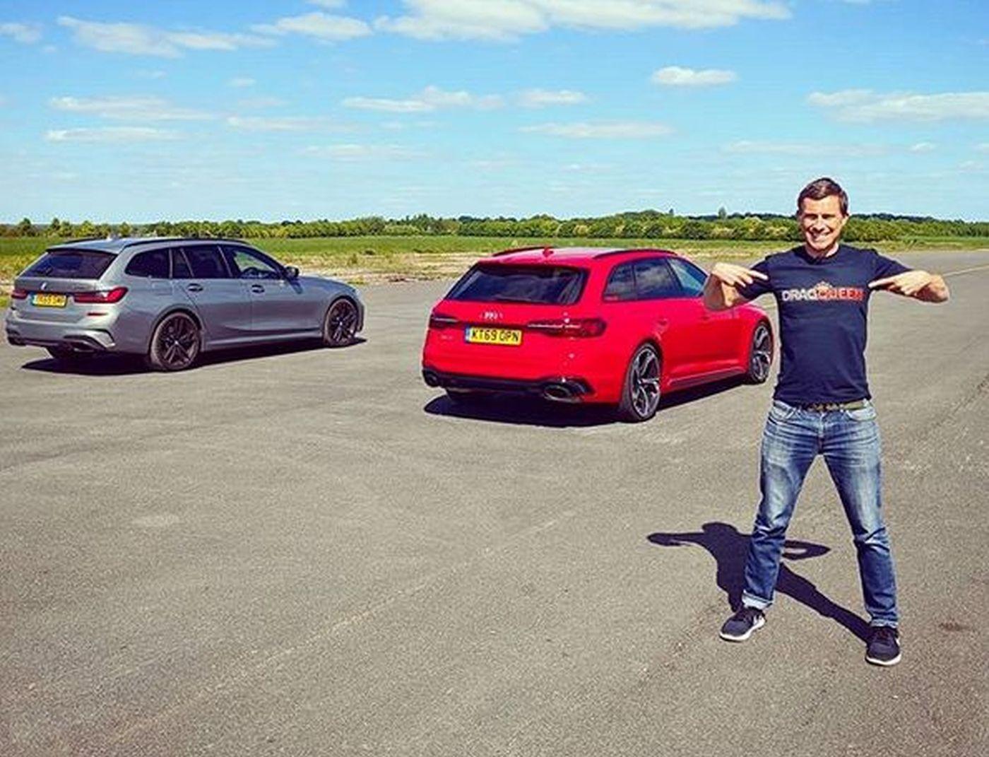 BMW i Audi RS Avant