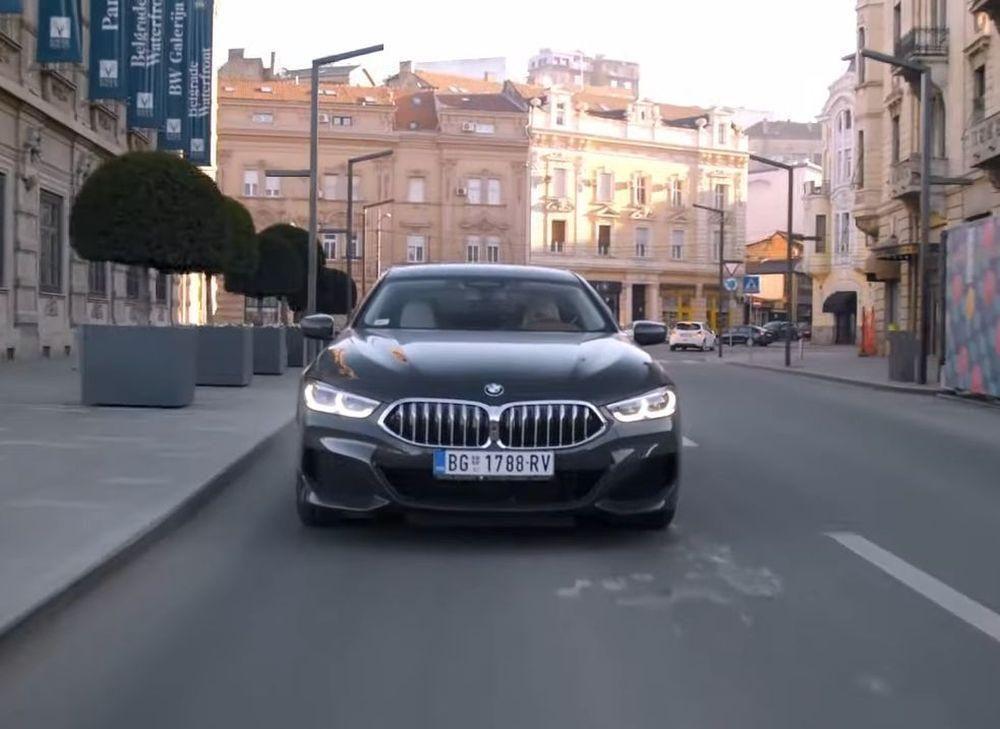 BMW 840d Gran coupe na testu kod susjeda, nije im bilo sve po volji!