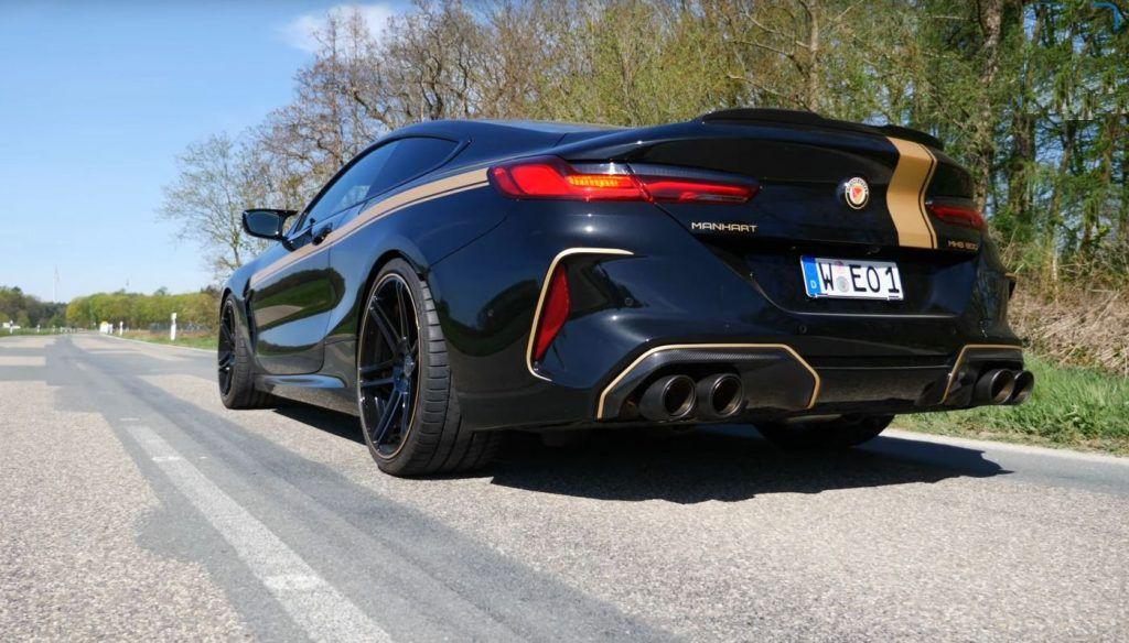 BMW M8 Competiton u Manhart izvedbi od 823 KS, traži se dovoljno hrabar vozač!