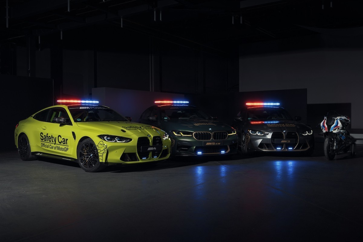 BMW Moto GP Safety car M M M