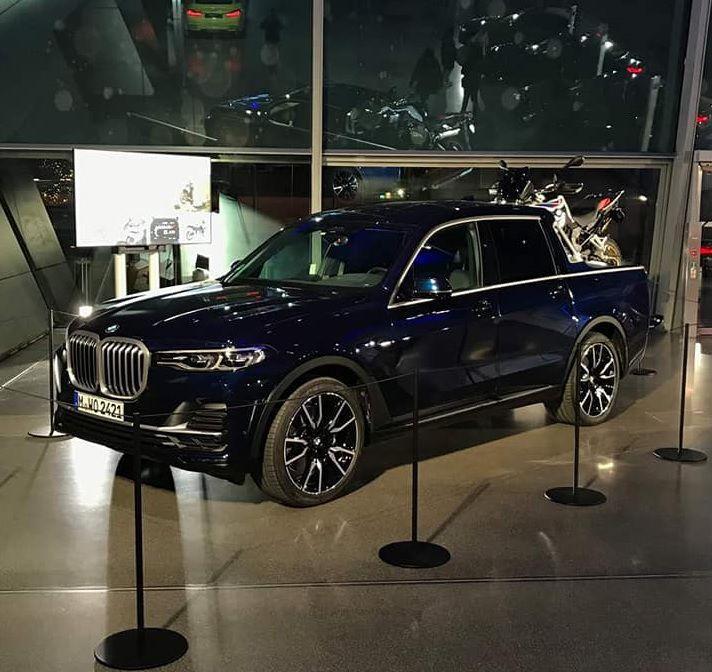 BMW X7 pick-up postao stvaran i najavio serijsku proizvodnju?