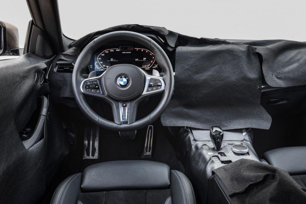 Nova BMW Serije 4 uskoro debitira, velika maska izostala, otkriven mali dio interijera 3