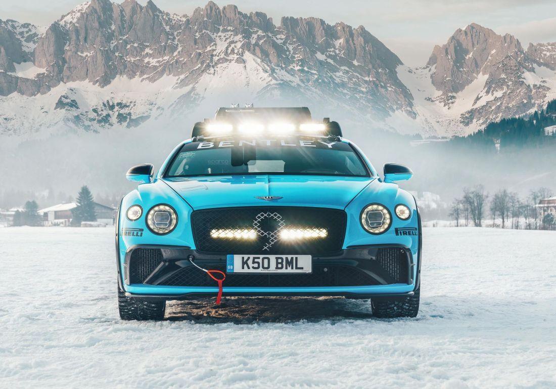 Bentley GT Winter Zee