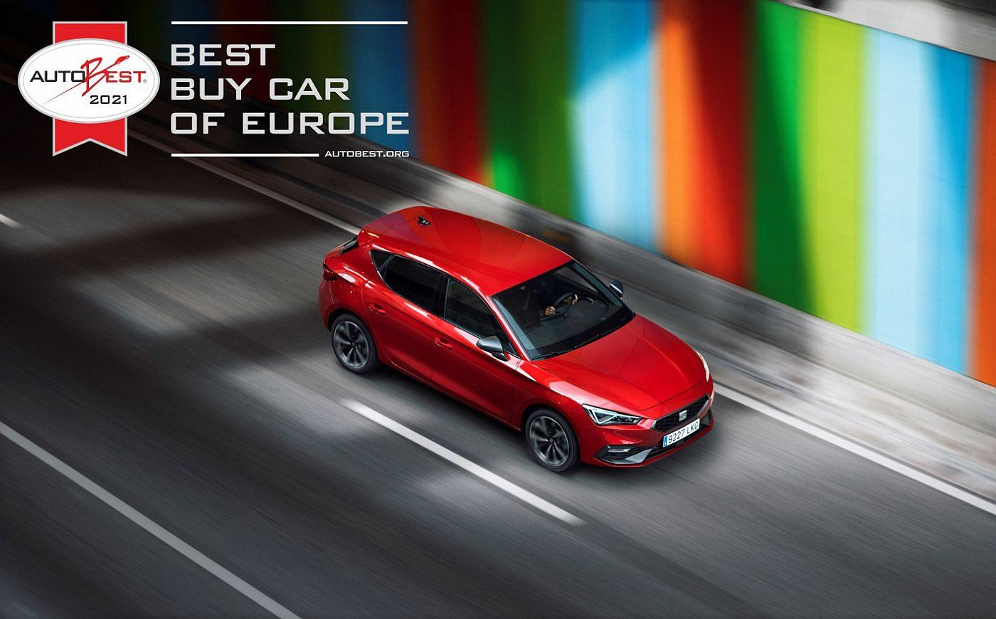 Best Buy Car of Europe  the all new SEAT Leon wins AUTOBEST   HQ