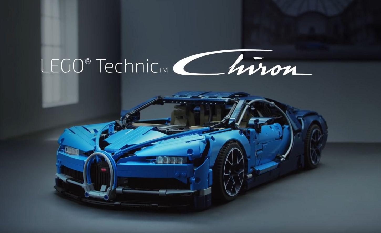 Bugatti Chiron Lego techic