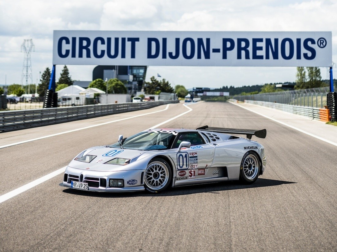 Bugatti EB  Sport Competizione  godina povaratak na staze