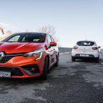 Clio  vs Clio  usporedni test