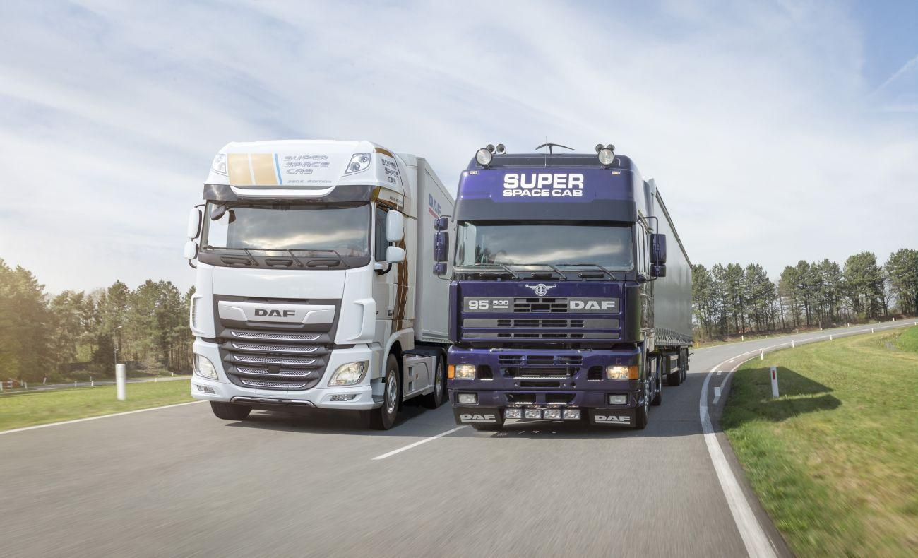 DAF Super Space Cab Celebration Edition And  First Edition