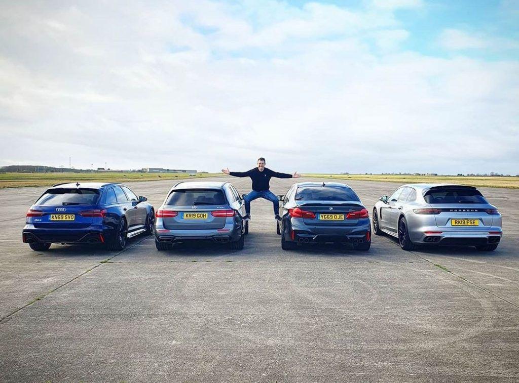 Tražimo kralja svih obitelji, Audi RS6 vs BMW M5 vs Mercedes-AMG E63 vs Porsche Panamera