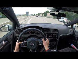Volkswagen Golf GTI u jurnjavi Autobahnom za dlaku izbjegao ozbiljniju nesreću