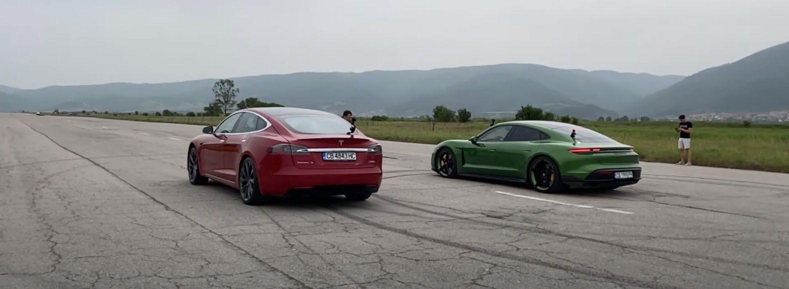 DT Model S vs Taycan