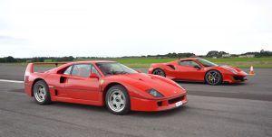 Ferrari 488 Pista vs F40 - koliko su slični, a koliko različiti?