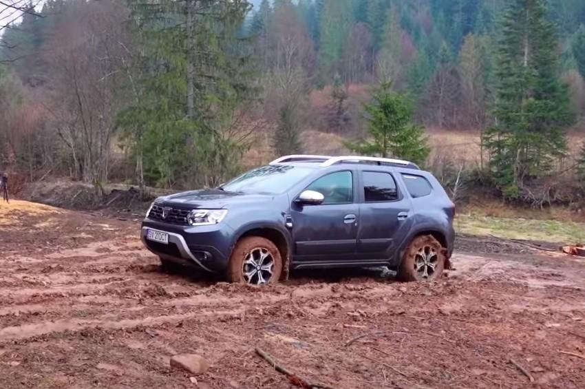 Dacia Duster blato