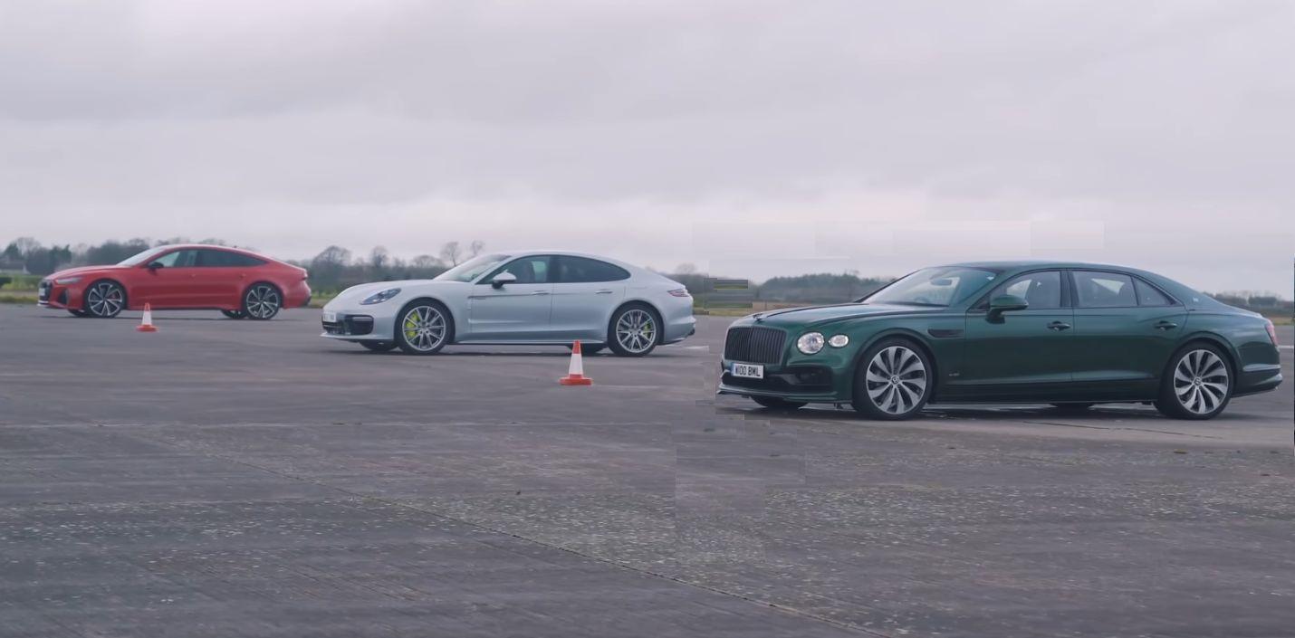 DriveTeam Drag Porsche Bentley Audi
