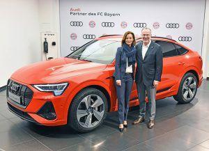 Audi i FC Bayern München potpisali nastavak suradnje, igrači od sad voze e-tron! 11