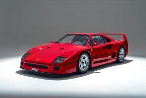Ferrari SP42 je buduća 'one-off' izvedba inspirirana čuvenim modelom F40